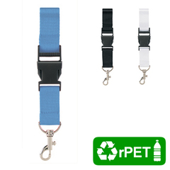 Lanyard recycled PET onbedrukt
